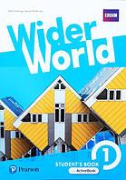 Учебник Wider World 1 Student's Book +Active Book / Автор: Bob Hastings Pearson