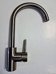 Смеситель кухонный Platinum 7011 D PVD черный