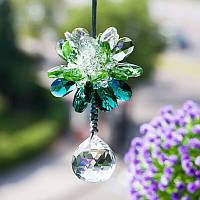 декоративное украшение в машину Кристалл  цветок