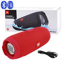 Bluetooth-колонка JBL CHARGE 3+, speakerphone, радио, red