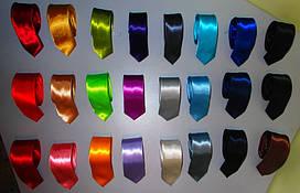 Галстук мужской стильный узкий разноцвет