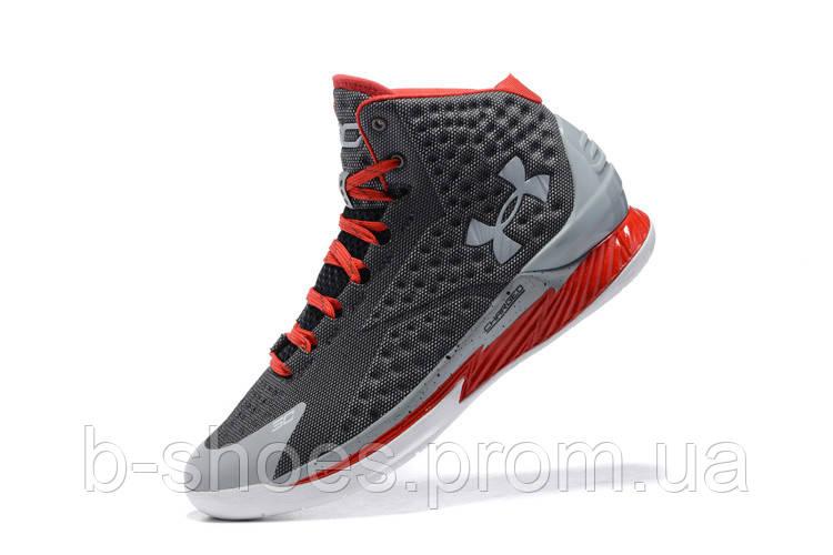 Мужские кроссовки UNDER ARMOUR CURRY (Grey/Red)