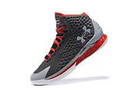 Мужские кроссовки UNDER ARMOUR CURRY (Grey/Red), фото 1