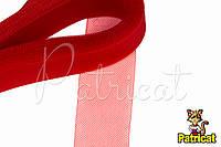 Кринолин (регилин) мягкий Красный 4 см 1 м