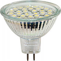 Светодиодная лампа LB-23 MR16 G5.3 230V 2W 30LEDS RED