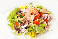 Салат с морепродуктов