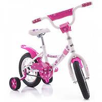 Велосипед детский Azimut Kathy 12 дюймов двухколесный Азимут Кэти