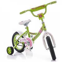 Велосипед детский Azimut Kathy 16 дюймов двухколесный Азимут Кэти