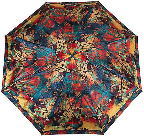 Яркий женский зонт компактный автомат ZEST(ЗЕСТ), Z24984-7 Антиветер!