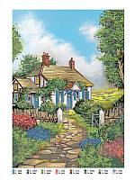 """Схема вишивки бісером пейзаж """"Будинок на узліссі"""", фото 1"""