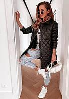 """Куртка женская демисезонная плащевка размеры 42-48 (2цв) """"MARGARET"""" недорого от прямого поставщика"""