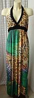Платье женское легкое летнее сарафан стрейч бренд New Look р.44 5266а