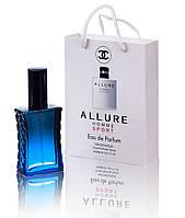 Мини парфюм Chanel Allure Homme Sport в подарочной упаковке 50 ml