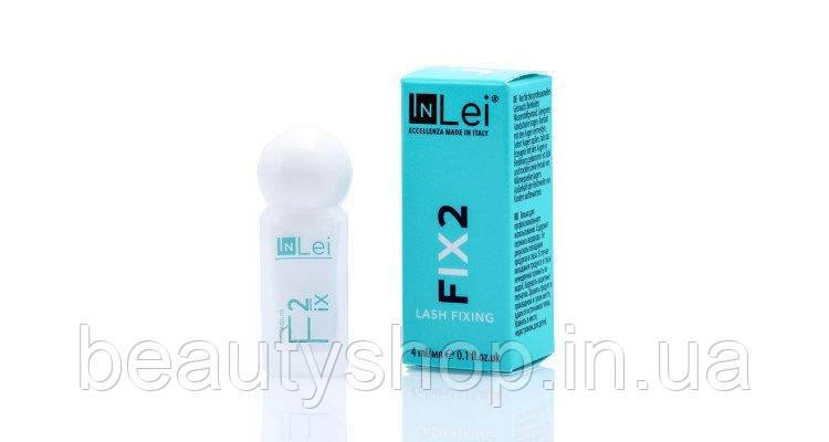 Склад для ламінування вій і брів, In Lei Fix2, 4 мл, Фіксує склад, Інлей, Inlei