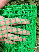 Сетка пластиковая (забор) 1*20м (ячейка 10*10мм)