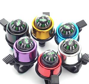 Звонок для самоката ударный с компасом (все цвета) (2T7040)