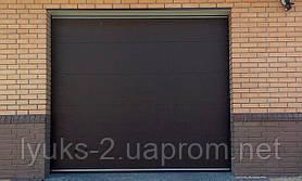 Ворота гаражные Алютех 2,5* 2 м