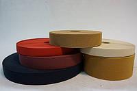 Резинки на голенище эластичные  3 см. цвет черн. (Италия)