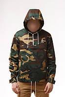 Размер L Куртка Анорак мужская Ястреб Камуфляж Woodland camо