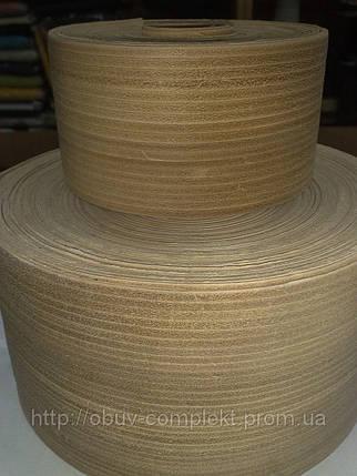 Кожа для обтяжки каблука ширина 10 см., фото 2