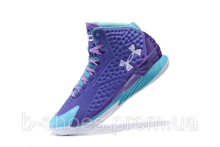 Мужские кроссовки UNDER ARMOUR CURRY (Purple/Blue)