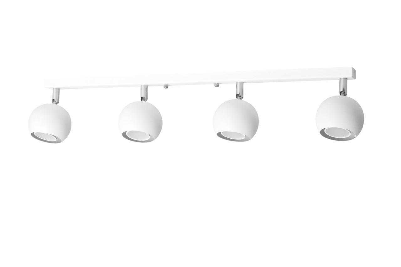 Светильник потолочный MSK Electric Core спот с поворотными плафонами NL 11151-4 WH