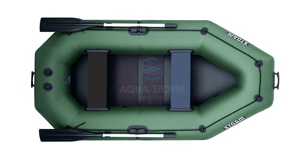 Лодка пвх надувная двухместная Storm ( шторм ) ST 249