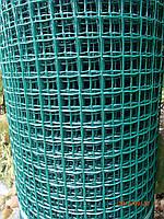 Сетка пластиковая (забор) 1*20м (ячейка 20*20мм)