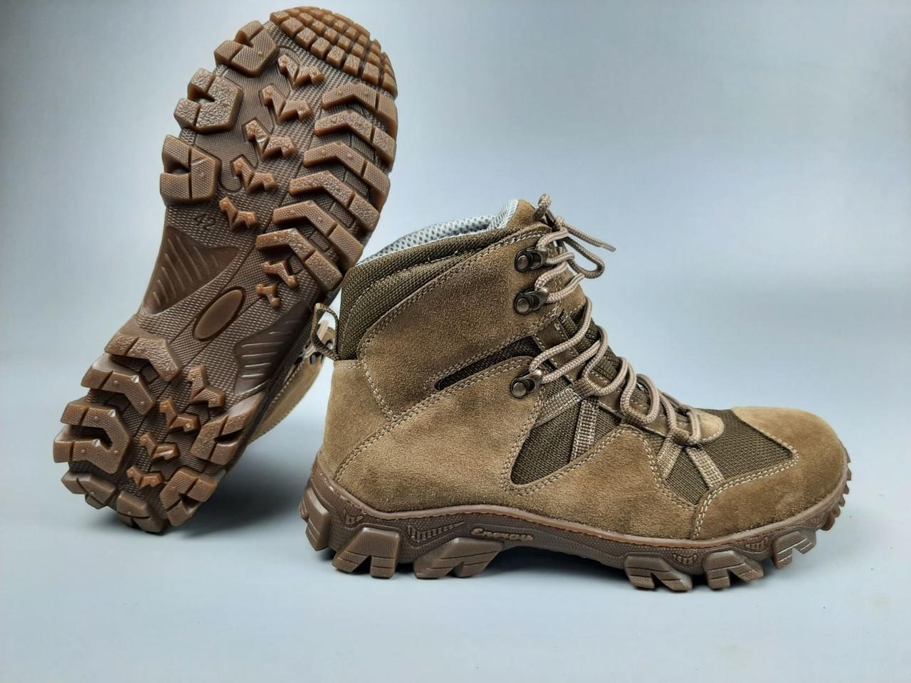 Тактичні черевики WOLF Партизан койот нубук демосезон