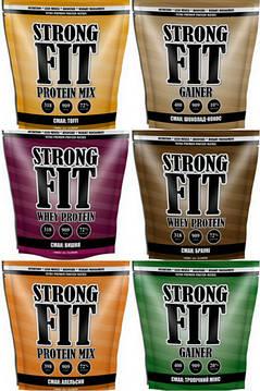 Strong Fit спортивне харчування