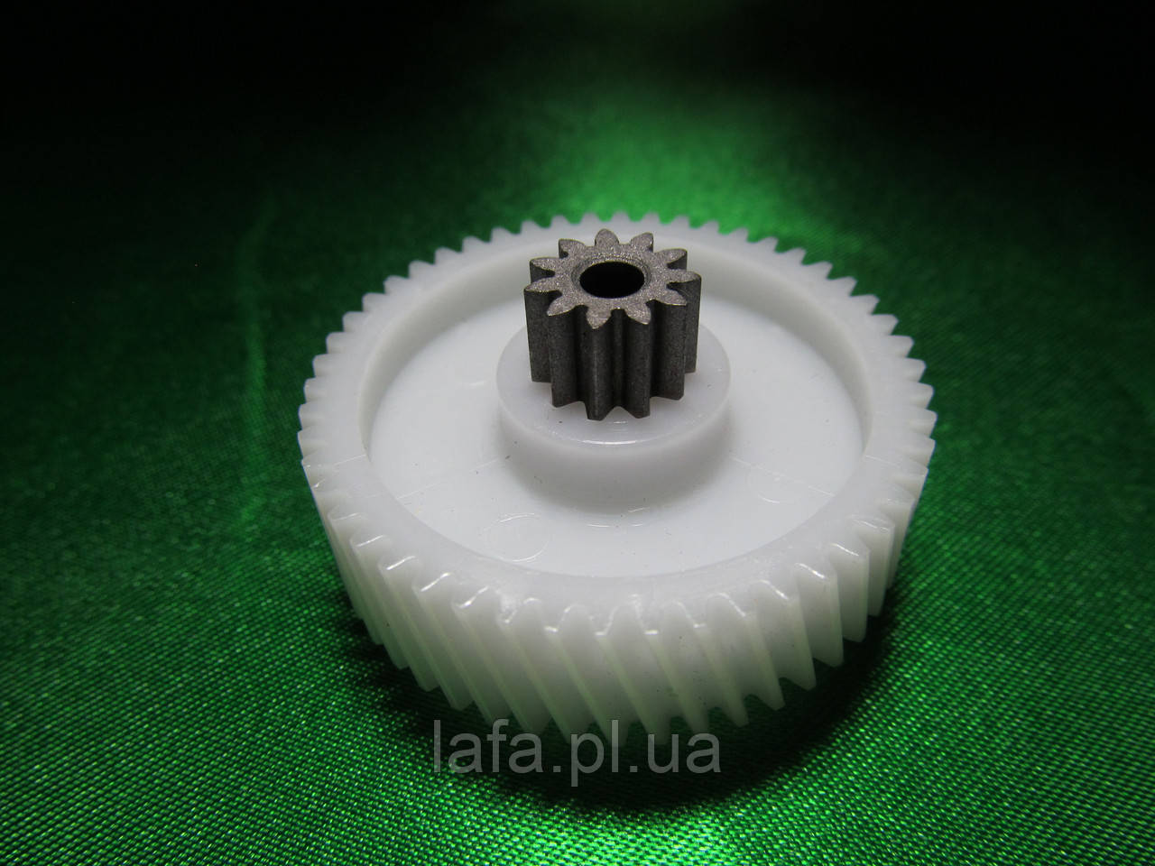 Шестерня  Бриз, Аксион D=42/11 мм, пластик+метал (для мясорубок и кухонных комбайнов Аксион, Бриз) - Интернет магазин Лафа в Полтаве