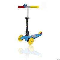 Самокат детский SWIFT (Explore оригинал) руль складывается наклоном Голубой