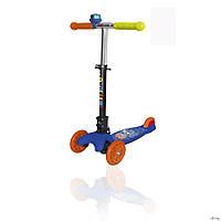 Самокат детский SWIFT (Explore оригинал) руль складывается наклоном Синий