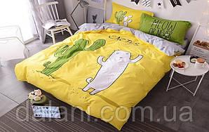 Детский полуторный комплект постельного белья из ренфорса