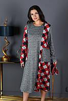 """Платье турецкая ангора софт женское размеры: 50-60(3цв) """"LILI"""" недорого от прямого поставщика"""