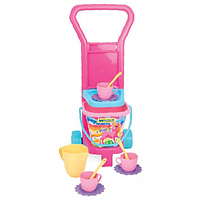 Детская посудка Пикник с тележкой серии Party World Wader 10772 (10982)