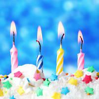 Свечи для торта. Волшебство в праздничном пироге.