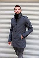 Чоловіче стильне пальто,мужское деловое пальто осень-весна S,M,L,XL