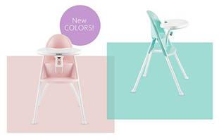 Новые расцветки стульчиков для кормления BabyBjorn!