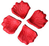 Лепестки роз Красные декоративные 50 грамм 330 шт, фото 1