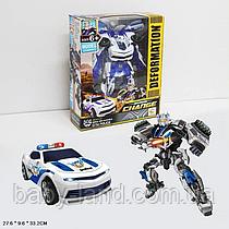 Робот трансформер Полицейская машина 611-27