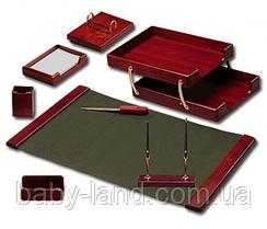Набор настольный деревянный 7 предметов красное дерево Bestar 7238WDM
