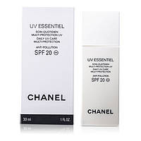 TESTER Chanel Защитная эмульсия Precision UV Essentiel Protective UV Care Anti Pollution SPF 20 30ml