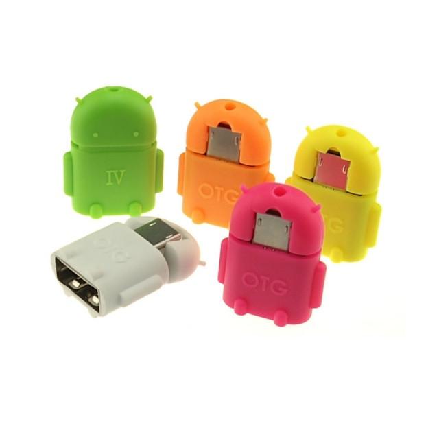 Адаптер Micro USB к USB OTG