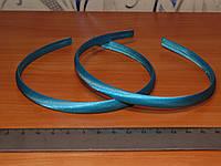Обруч пластиковый 8 мм (6 цветов), обтянут атласной лентой