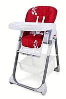 Детский стульчик для кормления Wonderkids Rico, красный стульчик для кормления