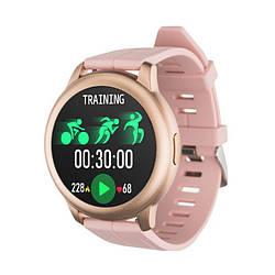 Смарт-часы Globex Smart Watch Me Aero Gold/Pink