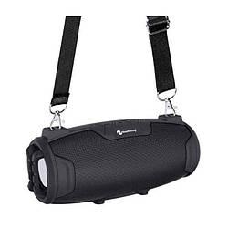 Портативная Bluetooth колонка New Rixing NR3026M + микрофон Black