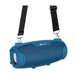 Портативная Bluetooth колонка New Rixing NR3026M + микрофон Blue