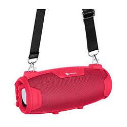 Портативная Bluetooth колонка New Rixing NR3026M + микрофон Red